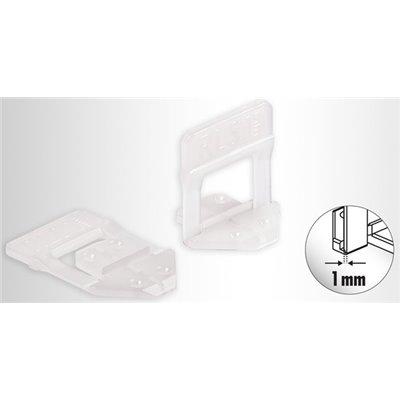CLIPSY 3D 1MM SYSTEMU POZIOMOWANIA PŁYTEK RAIMONDI  250 SZT