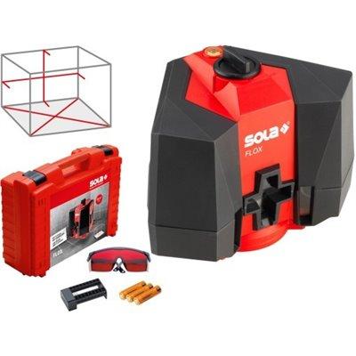 SOLA FLOX laser krzyżowy podłogowy walizka