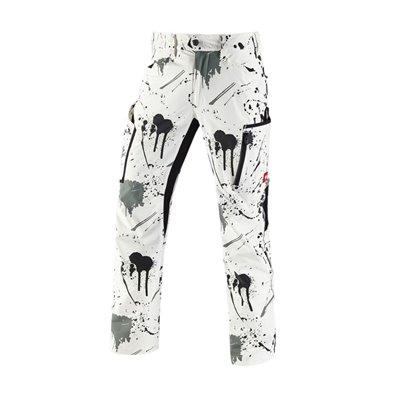 es Elastyczne spodnie cargo Painter