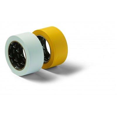 Taśma bud. z PCV żółta 50 mm x 33 m SB